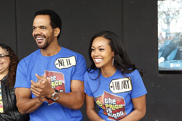 young and the restless price is right crossover