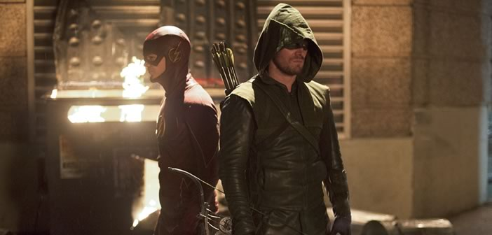 Preview: Arrow and The Flash crossover event!