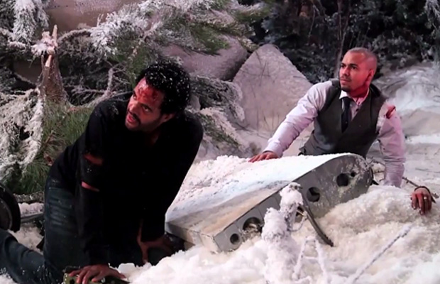 plane crash young and the restless