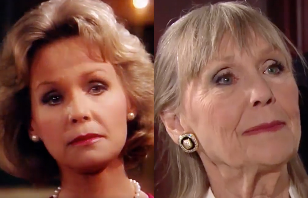 dina abbott mergeron young and the restless luke tracy reunite gh
