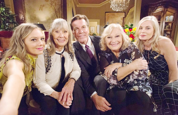 abbott family young and the restless