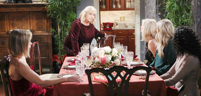Soap News: The Abbott's Share An Unforgettable Christmas on Y&R, Claire & Ciara Cause Drama at the Horton Ornament Hanging on DAYS and more